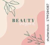 organic minimal trendy vector...   Shutterstock .eps vector #1799284387