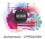 minimalistic creative concept . ... | Shutterstock .eps vector #1799362384