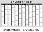 calendar 2021  daily event... | Shutterstock .eps vector #1799387707