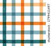 gingham seamless pattern.... | Shutterstock .eps vector #1799411497