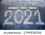 Banner. Happy New Year 2021....