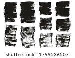 flat paint brush thin short mix ... | Shutterstock .eps vector #1799536507