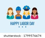 Happy Labor Day With Worker...
