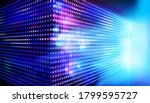 large led projection screens.... | Shutterstock .eps vector #1799595727