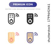 remote control icon isolated on ...