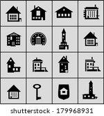 icon set  | Shutterstock .eps vector #179968931