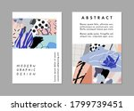 set of creative universal... | Shutterstock .eps vector #1799739451