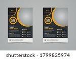 fitness center flyer   poster... | Shutterstock .eps vector #1799825974