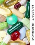 pills isolated on white... | Shutterstock . vector #179984795