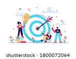 aim achievement. business... | Shutterstock .eps vector #1800072064