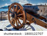 Cannon On The Fortress Grounds...