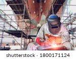 Welding Process Ship Repair At...