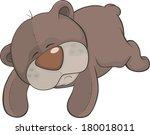 toy bear cartoon | Shutterstock . vector #180018011