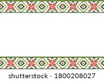 tribal pattern of north east... | Shutterstock .eps vector #1800208027