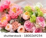 Flower Shop. Beautiful Bouquet...