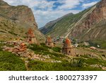The Old Village In The Caucasus ...