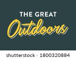 the great outdoors  camping ... | Shutterstock .eps vector #1800320884
