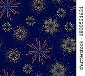 festive fireworks seamless... | Shutterstock .eps vector #1800531631
