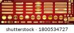 web vector golden and bronze... | Shutterstock .eps vector #1800534727