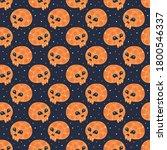 happy halloween seamless... | Shutterstock .eps vector #1800546337
