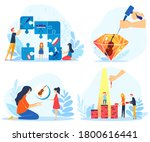 children creative achievements... | Shutterstock .eps vector #1800616441