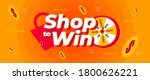 shop to win online shopping web ... | Shutterstock .eps vector #1800626221