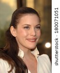 Liv Tyler At Madama Butterfly...