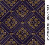 vector seamless pattern in... | Shutterstock .eps vector #180077555