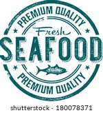 premium quality fresh seafood... | Shutterstock .eps vector #180078371