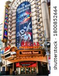 Small photo of Times Sq,NYC, NY, USA. August 21, 2020.Regal Cinemas42nd Street. Regal Cinemas is an American movie theater. Regal offers the best cinematic experience in digital 2D, 3D, IMAX, 4DX.