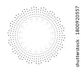 radial halftone dots in circle... | Shutterstock .eps vector #1800920557