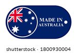 icon made in australia ... | Shutterstock .eps vector #1800930004