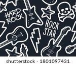 Trendy Musical Seamless Pattern ...