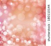 Pink Pastel Bokeh Background