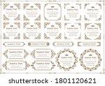 set of vintage elements for... | Shutterstock .eps vector #1801120621
