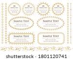 set of vintage elements for... | Shutterstock .eps vector #1801120741