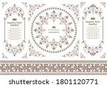 set of vintage elements for... | Shutterstock .eps vector #1801120771