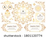 set of vintage elements for... | Shutterstock .eps vector #1801120774