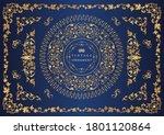set of vintage elements for... | Shutterstock .eps vector #1801120864