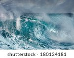 ocean wave | Shutterstock . vector #180124181