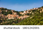 The Village Of Corbara In The...