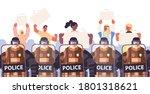 Policemen In Full Tactical Gear ...