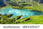 The Beautiful Mountain Lake In...