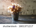 Flower Composition. Bouquet Of...