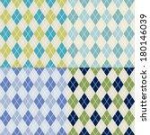 seamless argyle pattern | Shutterstock .eps vector #180146039