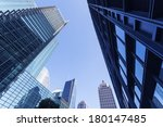 modern city shanghai | Shutterstock . vector #180147485