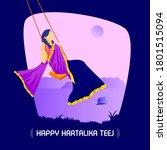 Women Swinging Joyfully On A...