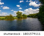 Ruhr River Panorama Between...