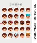 Pixel Emoticon  Emoji  Retro ...