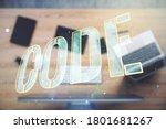 creative code word sign on...